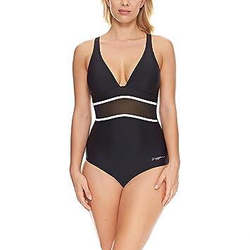 5851fd6776 Zoggs Women s Bohemian Magic Mesh Crossover Swim Suit  Amazon.co.uk ...