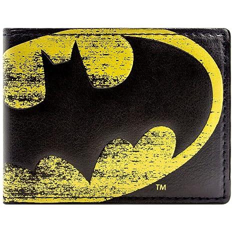 Cartera de DC Comics Batman Símbolo de la luz Negro