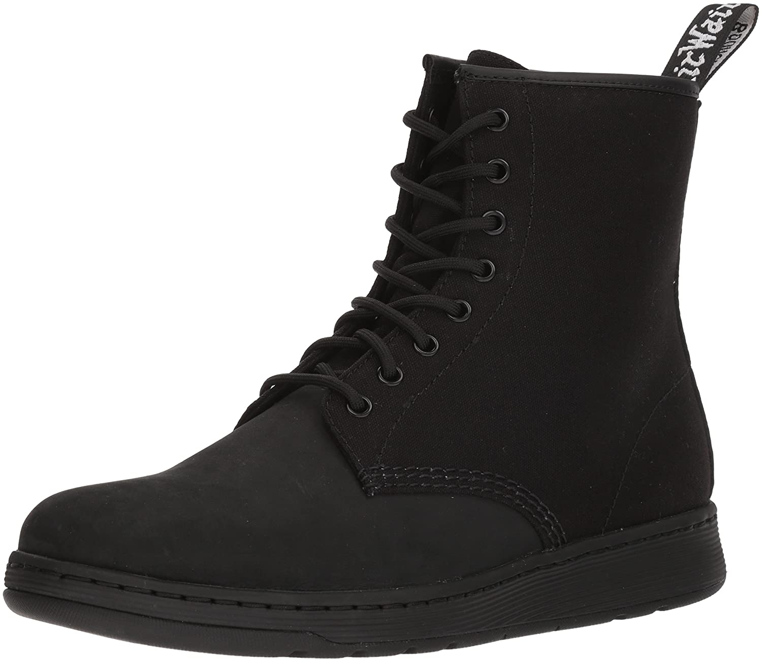 Dr. Martens Newton Nubuck Black Fashion Boot B071GFT5ZS 7 Medium UK (US Women's 9, US Mens 8 US)|Black