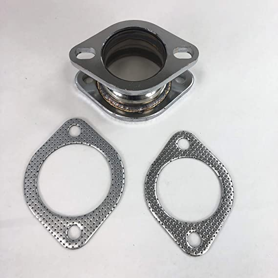 2 Inch Exhaust Pipe Flanges 8mm 52mm Tube Flange Joint