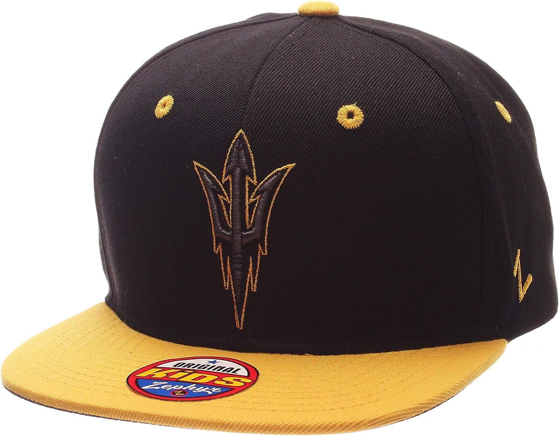 NCAA Zephyr Youth Z11 Phantom Snapback Hat