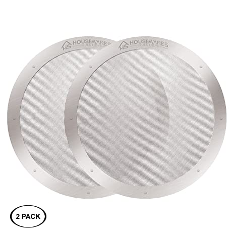 Amazon.com: 2-Pack Reusable Stainless Steel Filters for AeroPress Coffee Makers by Housewares Solutions (2): Kitchen & Dining
