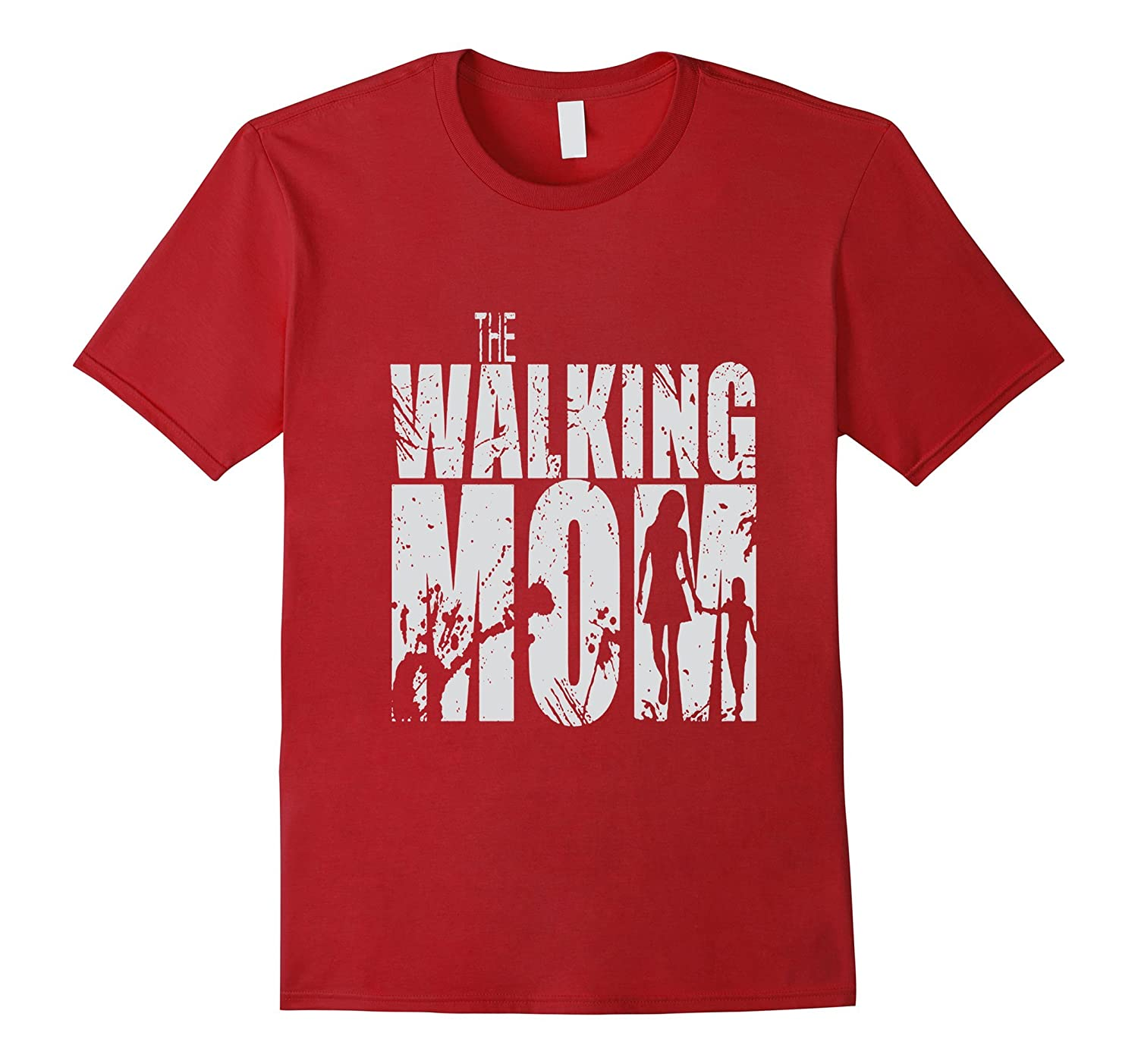 Walking Mom Cool Graphic Mothers Dead T-shirt 2017-TD
