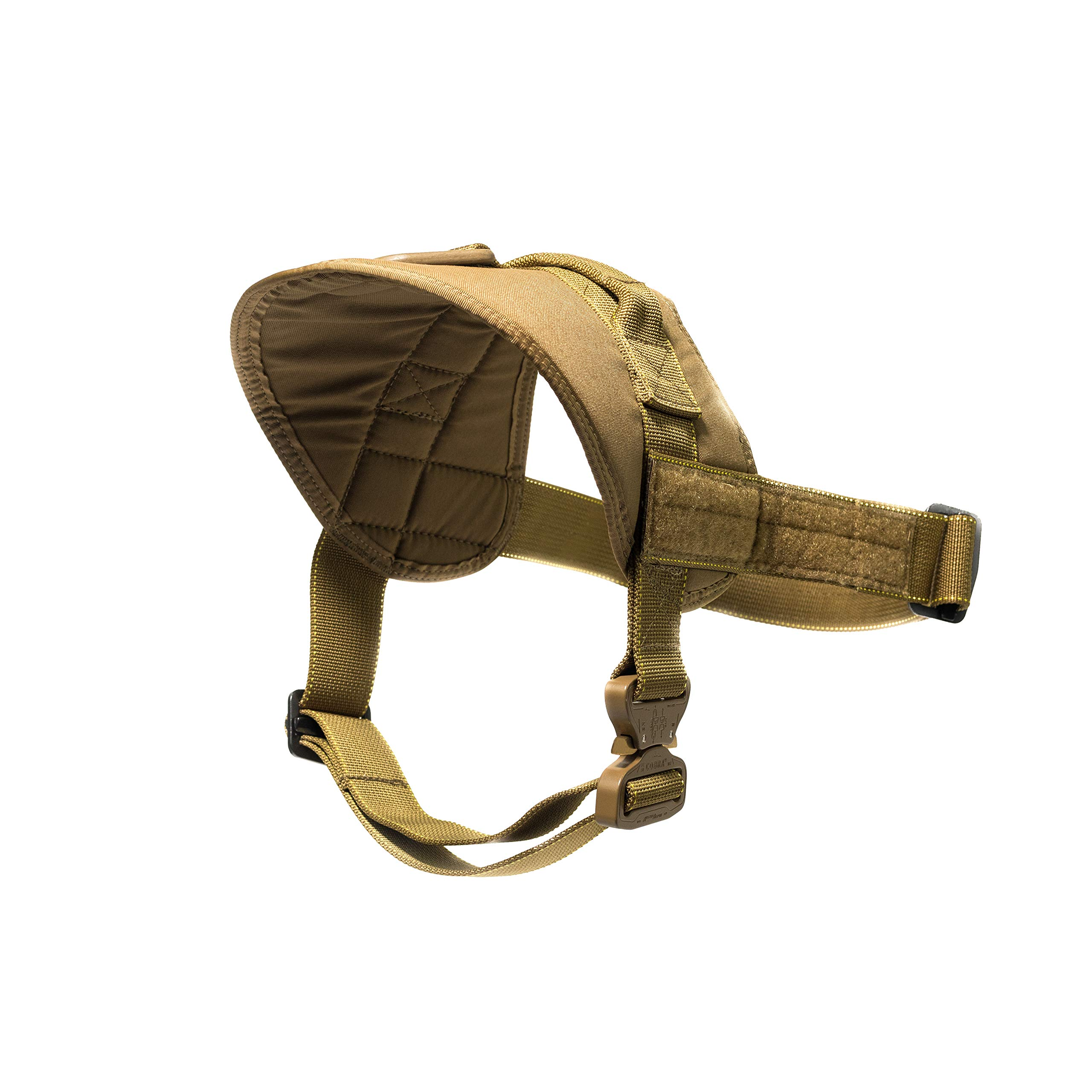 T3 K9 Quick Harness, Coyote Tan