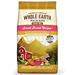 Merrick Whole Earth Farms Grain Free Small Breed Recipe with Chicken & Turkey Dry Dog Food, 4 lbs.