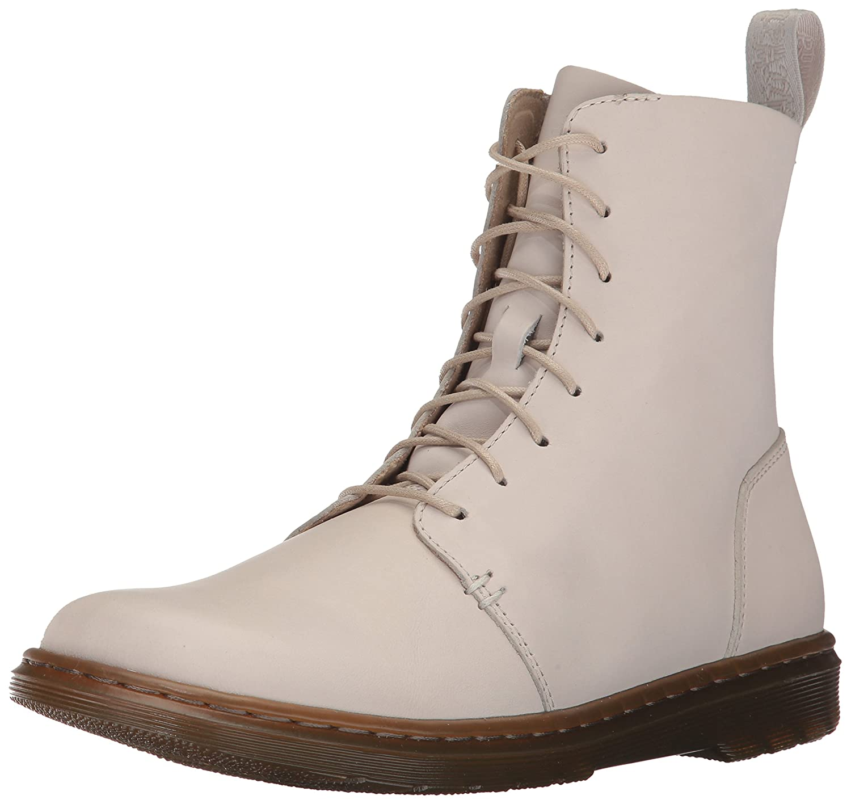Dr. Martens Women's Danica Bone Combat Boot B01MS2E9TA 7 Medium UK (9 US) Bone