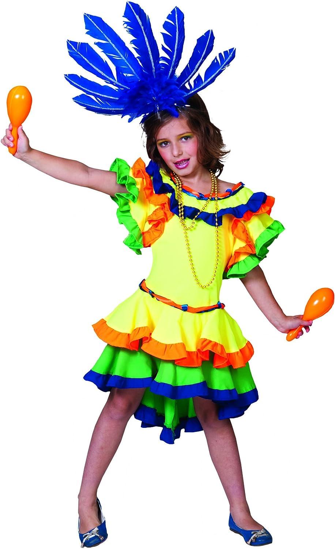 Disfraz rumbera - 10-12 años: Amazon.es: Juguetes y juegos