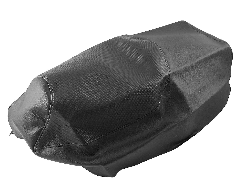 bis Baujahr 08//2005 Gilera Runner 50 Sitzbankbezug Sitzbezug Carbon-Look