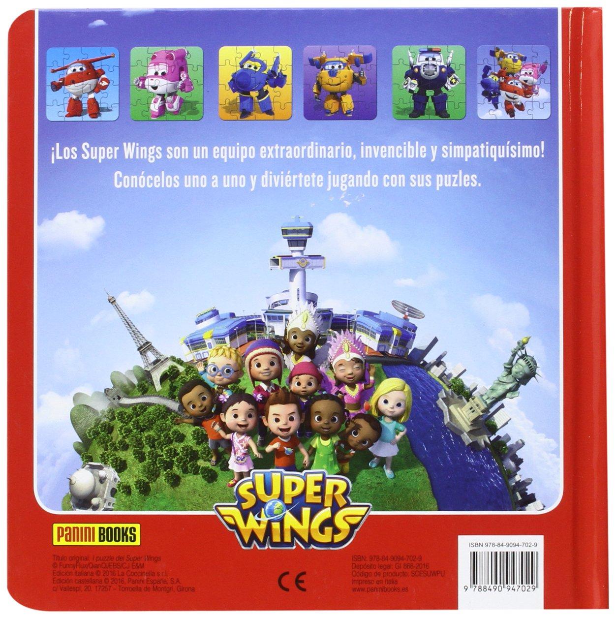 Los Puzles De Super Wings: Amazon.es: Vv.Aa., Vv.Aa.: Libros