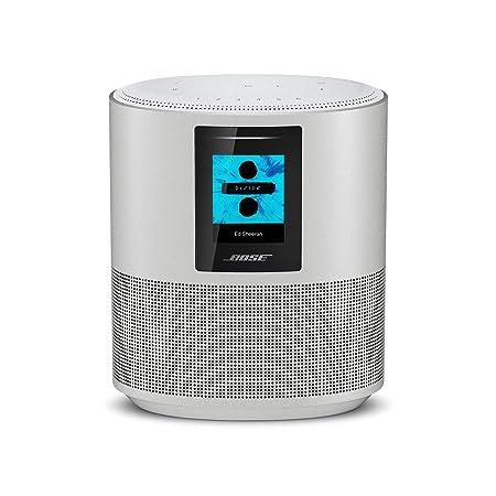Bose Home Speaker 500 mit integrierter Amazon Alexa-Sprachsteuerung Silber