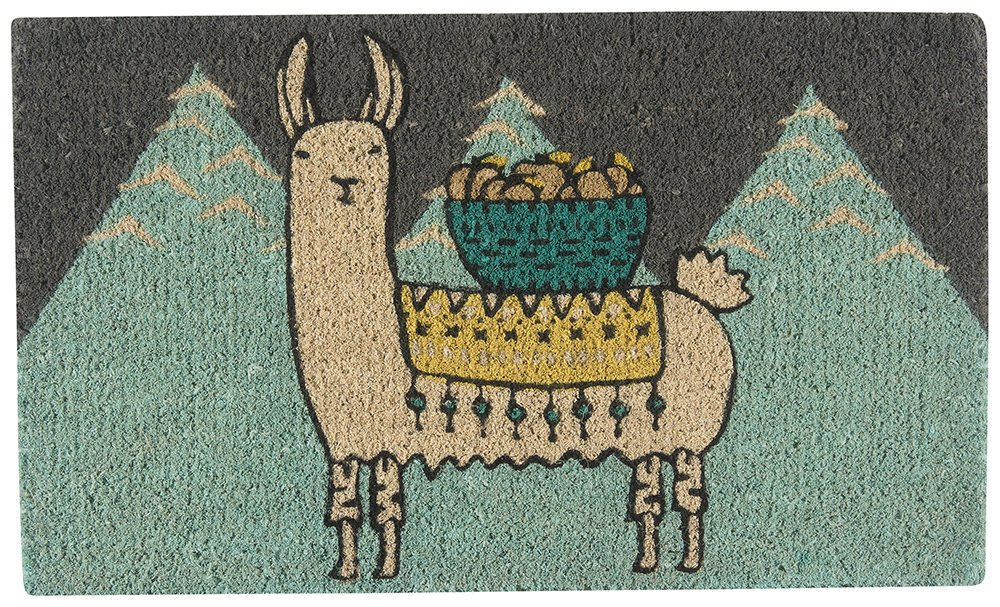 6. Larry the Llama Doormat