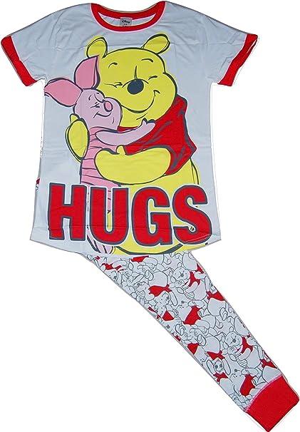 Winnie The Pooh Damen Lang Pyjama Schlafanzug