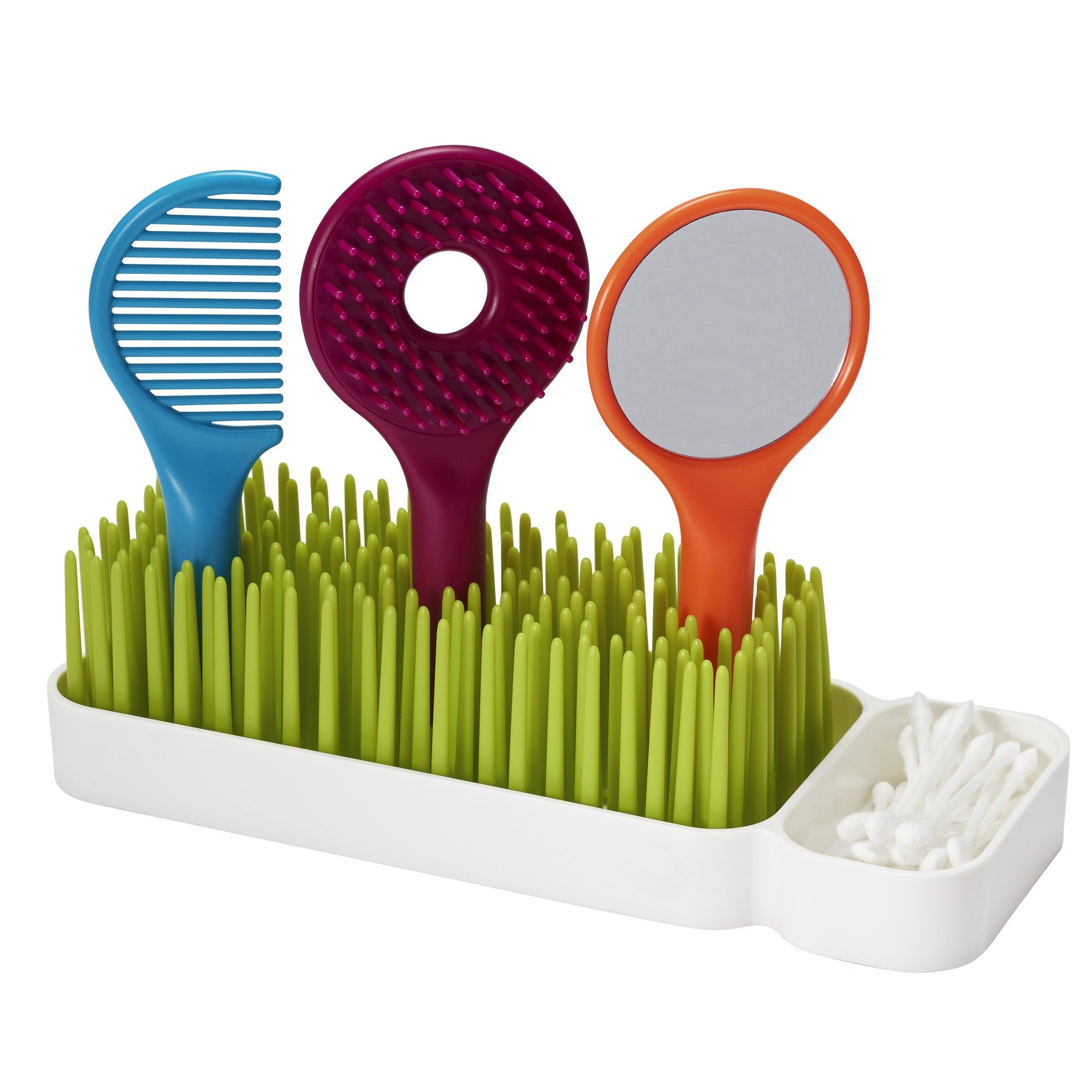 Boon SPIFF Toddler Grooming Kit, Green, White, Blue, Orange, Red by Boon