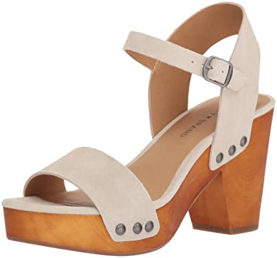027465caf Amazon.com  Lucky Brand Women s Trisa Heeled Sandal  Shoes