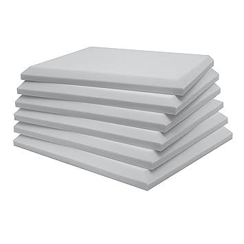 Panel absorbente ignífugo clase M1, Color blanco o gris perla. (Gris Perla): Amazon.es: Instrumentos musicales