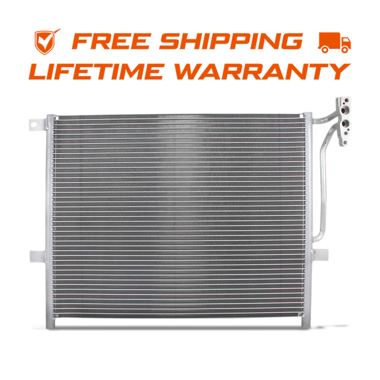 NEW 4994 Aluminum A//C AC Condenser Replacement For BMW E46 E90 1999-2006 3-series 2001-2006 M3 2003-2008 Z4