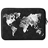 iLeadon 13 Inch Laptop Sleeve Case Neoprene Sleeve Cover Bag For 13.3 Inch Macbook Air Pro Retina Surface Laptop Waterproof Protection Chromebook 12.9-inch iPad Pro Tablet Case (13 inch, Nebula Map)