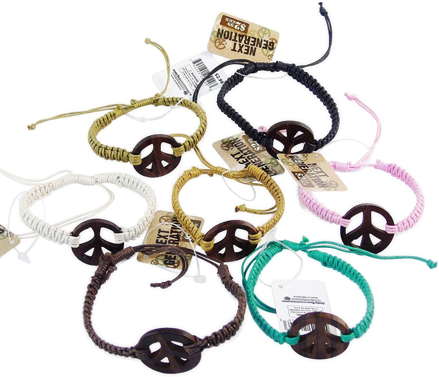Peace Sign Pendant Generation Hippie