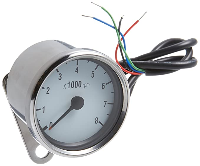 Amazon.com: HardDrive 21-6910W White Mini 8000 Rpm Tachometer Face ...