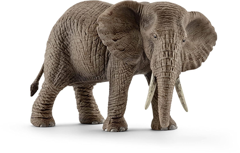 A Schleich Female African Elephant Toy Figure