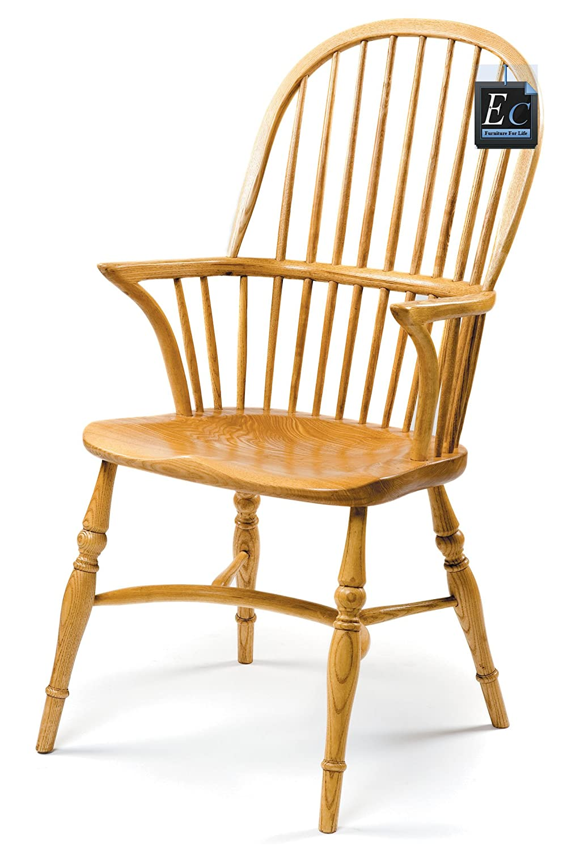 Perfekt Englisch Windsor Stick Back Doppelte Schleife Arm Stuhl: Hergestellt In  England: Ein Klassiker, Hervorragende Qualität, Englisch Stuhl Made In  Massivem Ash: ...