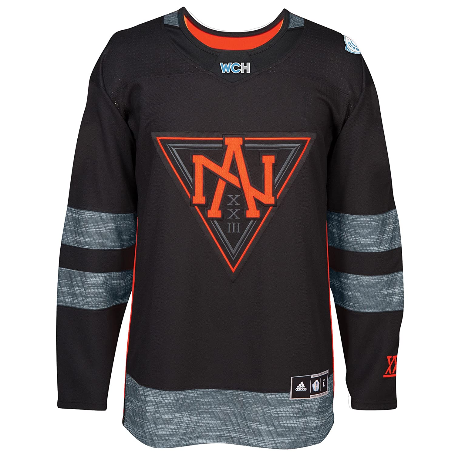 47cbabe207d0d Amazon.com : Team North America 2016 World Cup of Hockey Adidas ...
