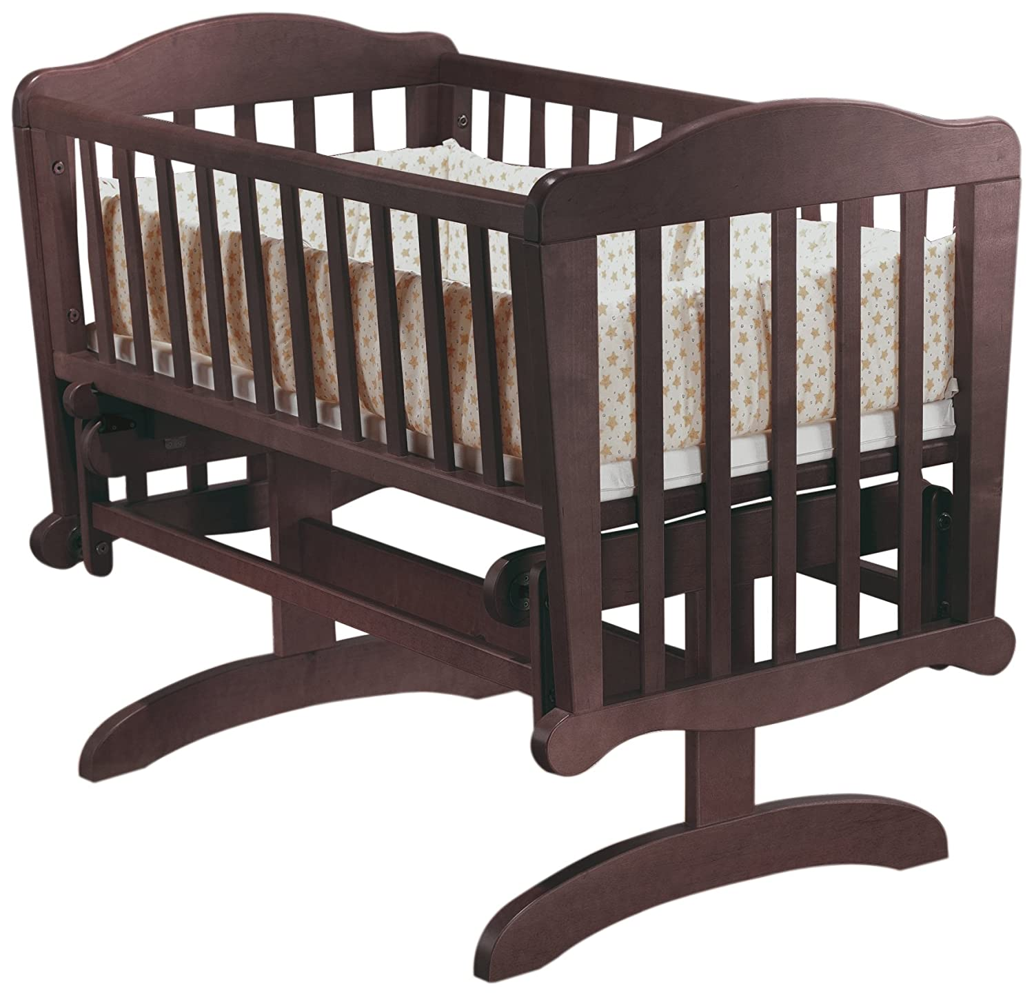 Sorelle Dondola Gliding Cradle Cherry Discontinued By Manufacturer