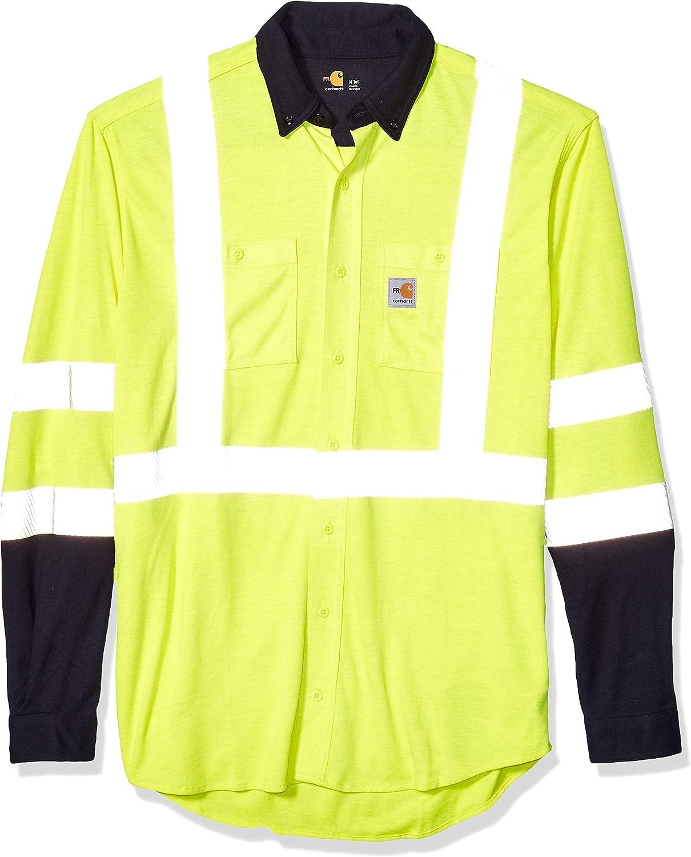 Carhartt - Camiseta híbrida de Alta Visibilidad para Hombre ...