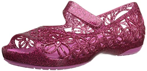 00920ed3d07c Crocs Kid s Isabella Glitter Jelly Flat  Amazon.ca  Shoes   Handbags
