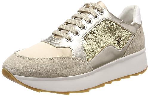 Geox D Gendry B, Zapatillas para Mujer: Amazon.es: Zapatos y complementos
