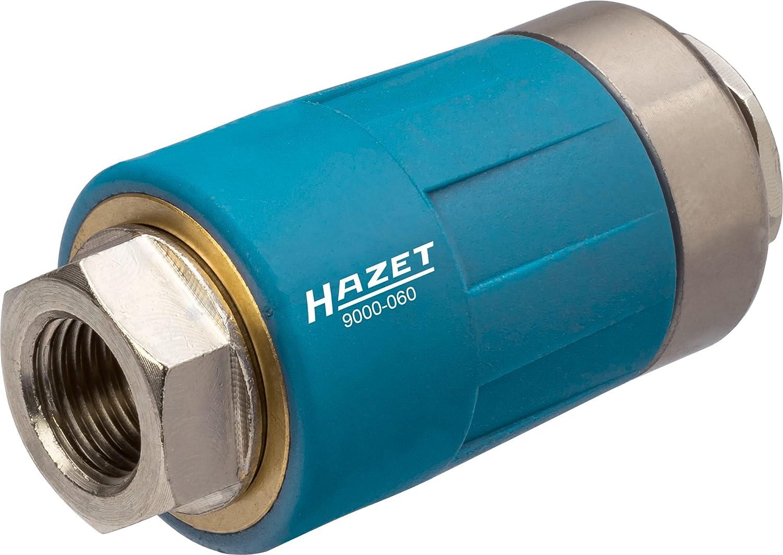 HAZET Sicherheitskupplung (passend fü r alle Luftanschlussnippel, sichere Trennung der Verbindung, mit 10 mm Schlauchnippel) 9000-070 Hermann Zerver GmbH & Co. KG