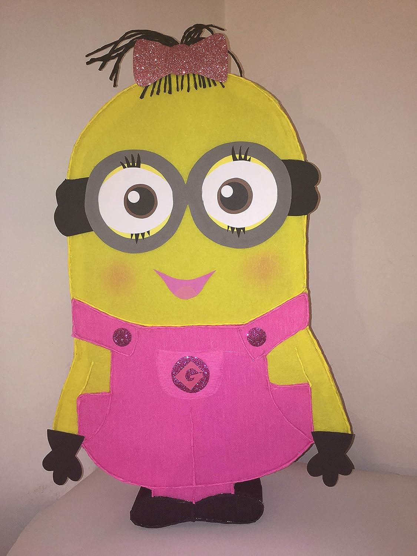 Minion Girl Pinata Birthday Party Supplies Minions Decoration Theme