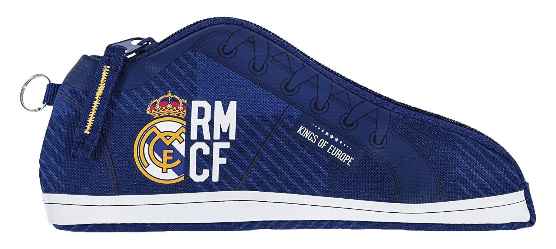 Real Madrid Estuche portatodo Zapatilla (SAFTA 811724584), Color Azul (: Amazon.es: Juguetes y juegos