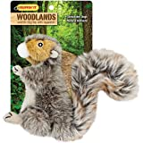 Westminster Pet Products Woodlands Plush Squirrel Dog Toy, Small