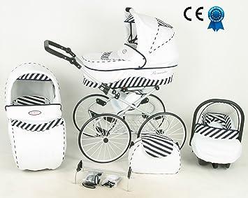 Cochecito 3 en 1 Retro con cochecito grandes ruedas Nacelle y asiento Cosy Auto + paraguas Offerte: Amazon.es: Bebé