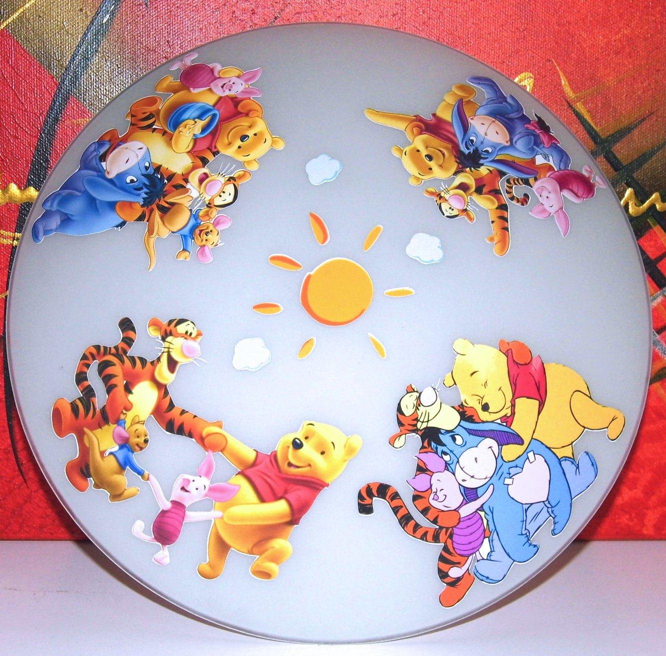 LED Deckenlampe Winnie Pooh Wandlampe Kinderzimmerlampe D3 TV-24