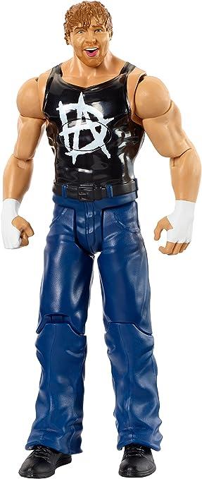 WWE- Figura y Accesorio Tough Talkers Dean Ambrose (Mattel Spain DXG86): Amazon.es: Juguetes y juegos