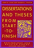 Dissertation and Theses from Start to