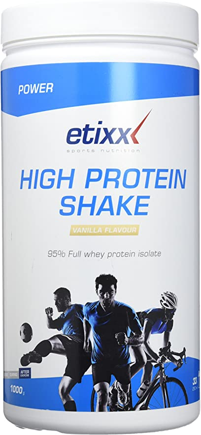 Etixx High Protein Shake, sabor a Vainilla - 1000 gr: Amazon ...