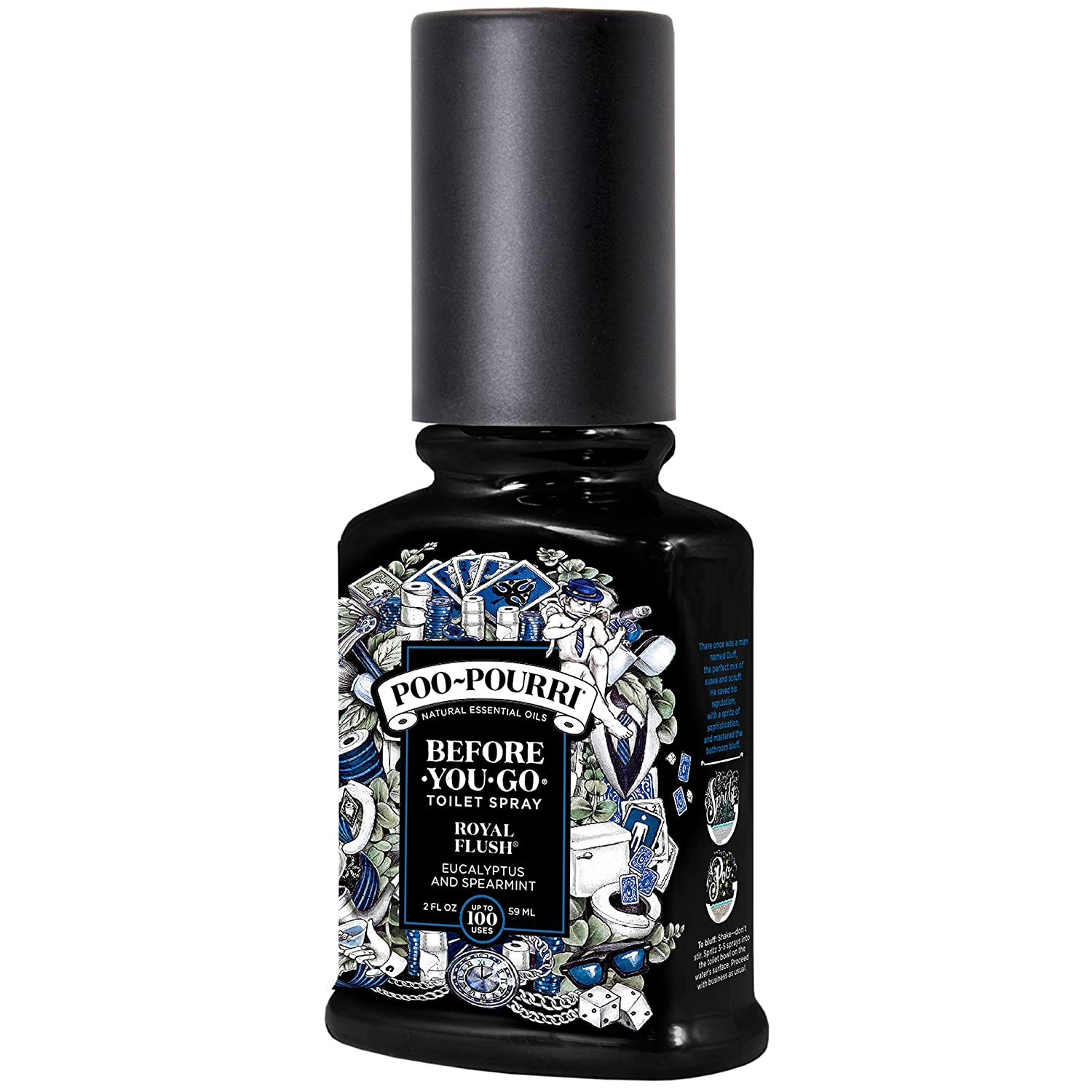 Poo-Pourri Before-You-Go Toilet Spray 10-ML Travel Size, Original Citrus Scent Poo~Pourri PP-10ML