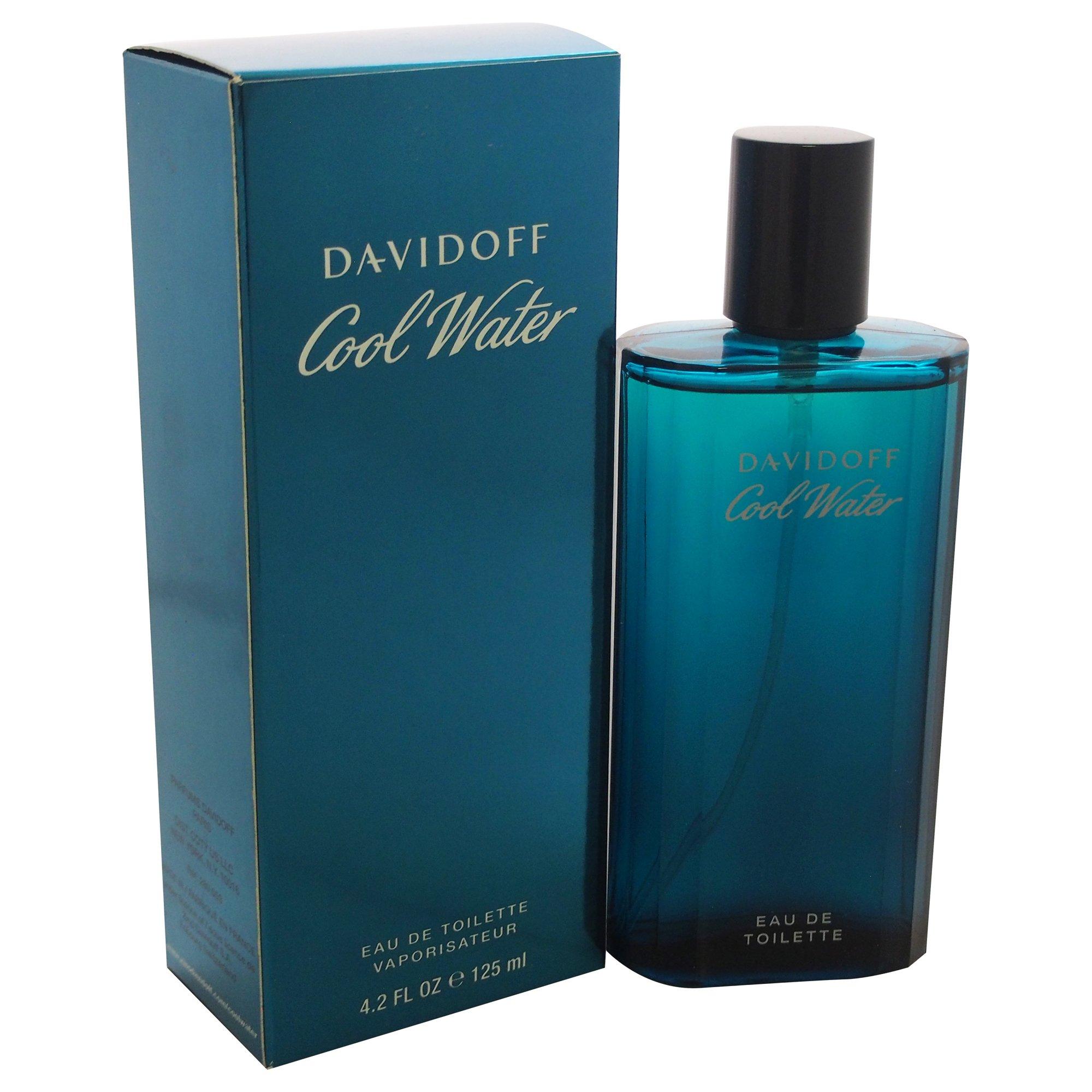 Cool Water By Davidoff For Men. Eau De Toilette Spray 4.2 Ounces