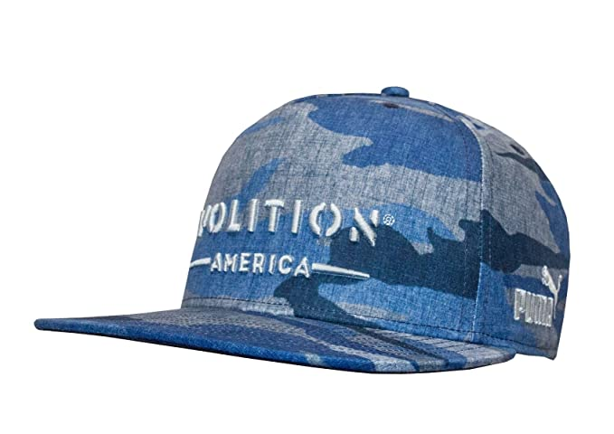 Amazon.com  PUMA Golf Men s Volition Camo Snapback Cap Dark Blue One ... dce95486072