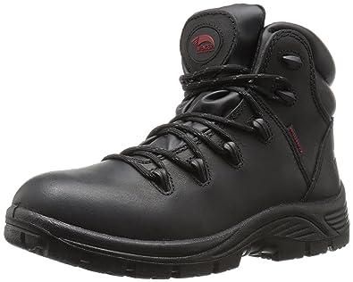 82644627b4e Avenger Safety Footwear Men's 7623 Leather Waterproof Soft Toe EH ...