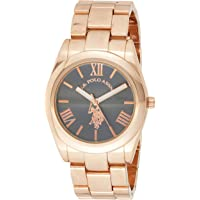 U.S. Polo Assn. USC40130 Women's Quartz Watch, Analog Display and Stainless Steel Strap