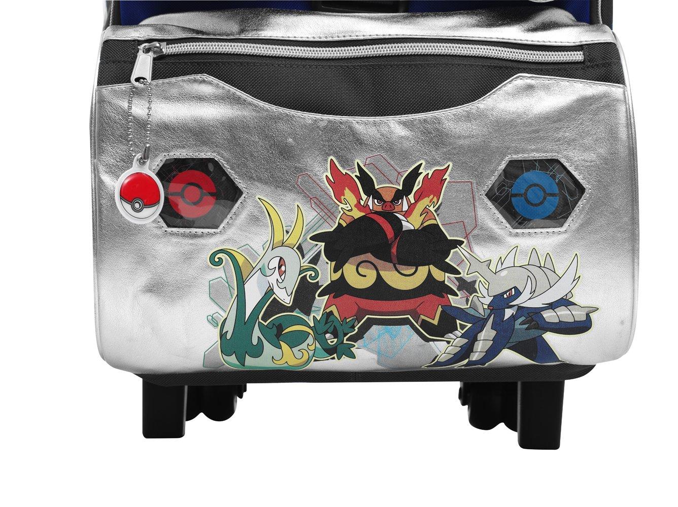 Auguri preziosi pokemon zaino zaino zaino scuola con ruote