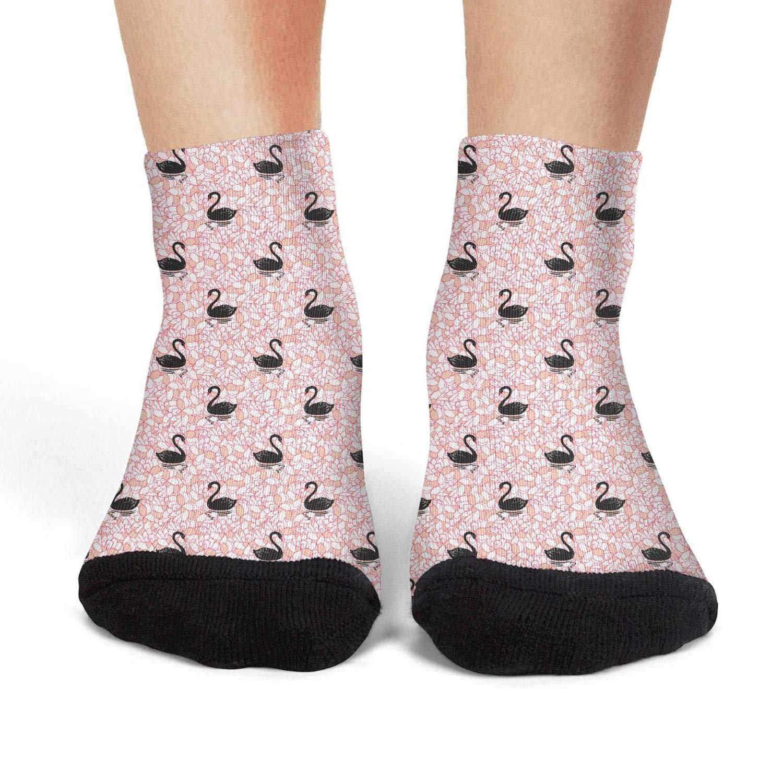 Mens athletic low cut Ankle sock Black Swan Casual Short Socks