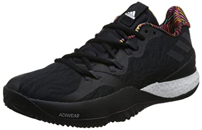 a59475ff04b14 Amazon.com | adidas Men's Crazy Light Boost 2018, CORE Black/DGH ...