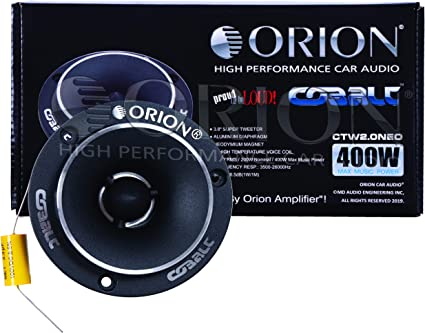 "Orion Cobalt CTW1.7HP 3.8/"" Super Tweeters 300 Watt Car Audio  CTW1.7HP PAIR"