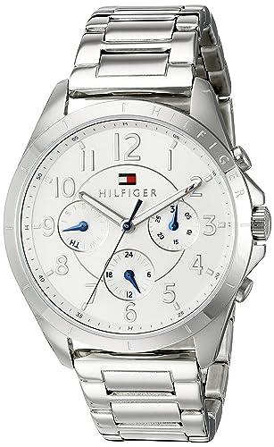 66b2fb88b6f7 Tommy Hilfiger 1781605 de la Mujer Casual Sport Analógico Reloj de Cuarzo