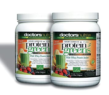 Amazon.com: (Pack de 2) PH50 Proteínas verdes Bebida con ...